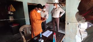 मंत्री श्री कावरे ने राशन दुकान परसवाड़ा का किया औचक निरीक्षण