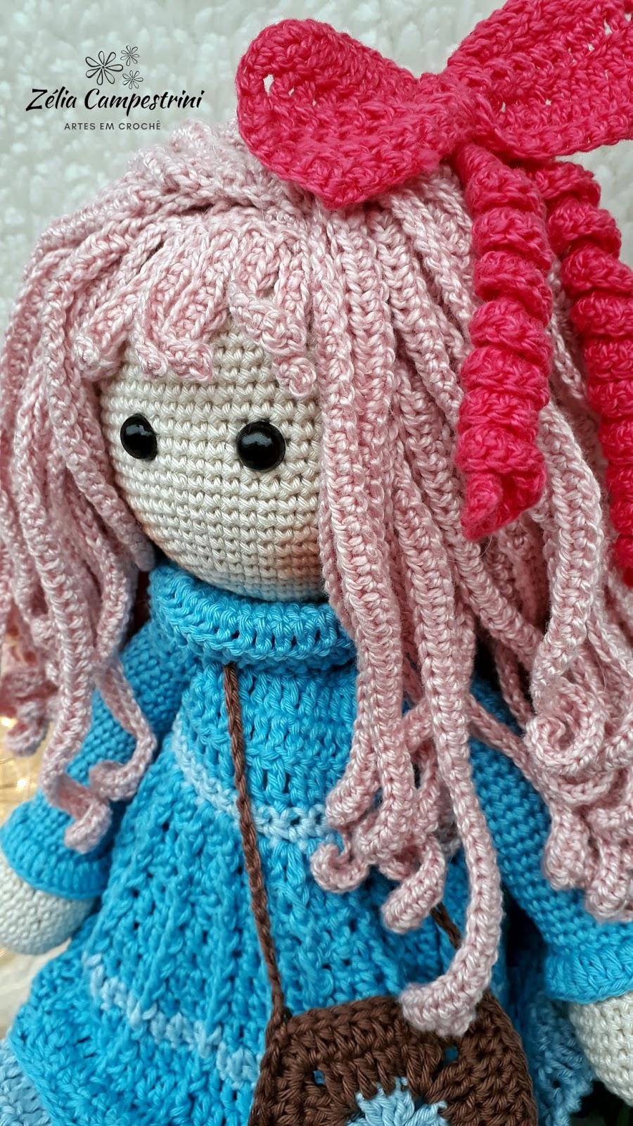 Boneca sereia em crochê @siltricoecroche   Bonecas de crochê ...   1600x900