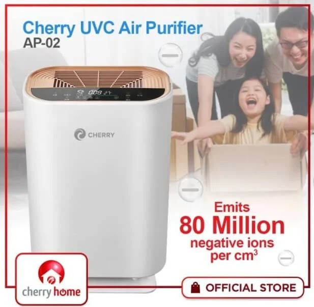 Free Your Home from Impurities with the Cherry UVC Air Purifier AP-02; Yours for Only Php5,000