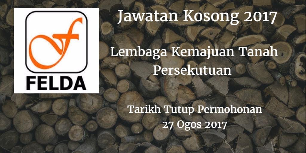 Jawatan Kosong FELDA 27 Ogos 2017