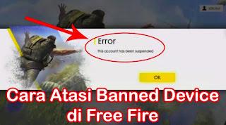 Akun Free Fire di Banned ? Begini Cara Mengembalikan / Memulihkannya