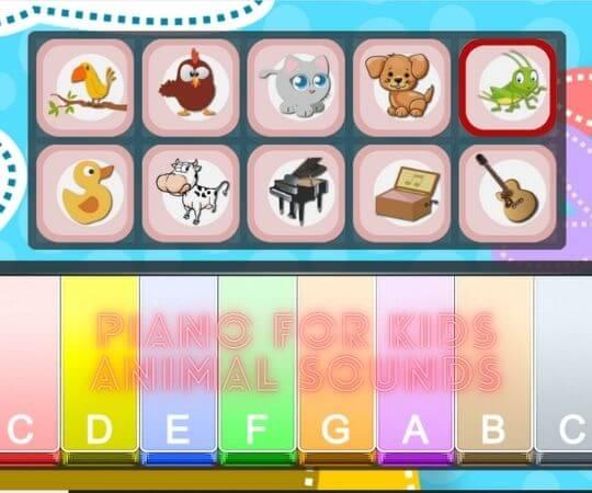 Free Piano For Kids Animal Sounds - ioogams.com