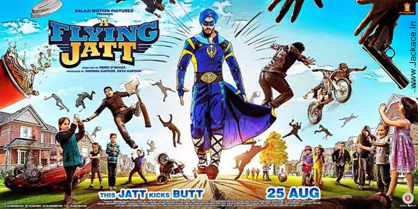 A Flying Jatt Posters