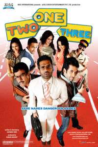 Download One Two Three (2008) Hindi Movie 720p WEB-DL 950MB