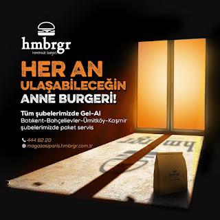 hmbrgr menü fiyat listesi kampanya anne burger siparişi