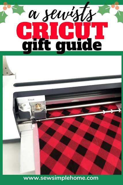 A great gift guide for Cricut users, especially those who enjoy sewing or want new tools to sew with. #ad #cricutcreated