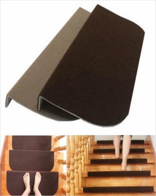 √√ Carpet Stair Treads Lowes Home Interior Exterior Decor | Carpet Stair Treads Lowes | Diy | Underlay Carpet | Luxury Vinyl Stair | Residential | Non Slip