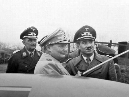 Goering Galland Luftwaffe worldwartwo.filminspector.com