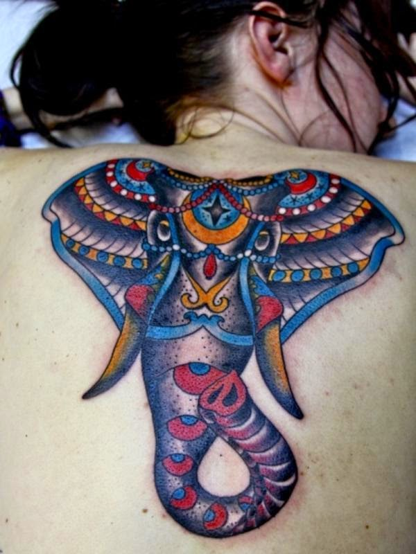 tatuajes de elefantes para chicas y su significado