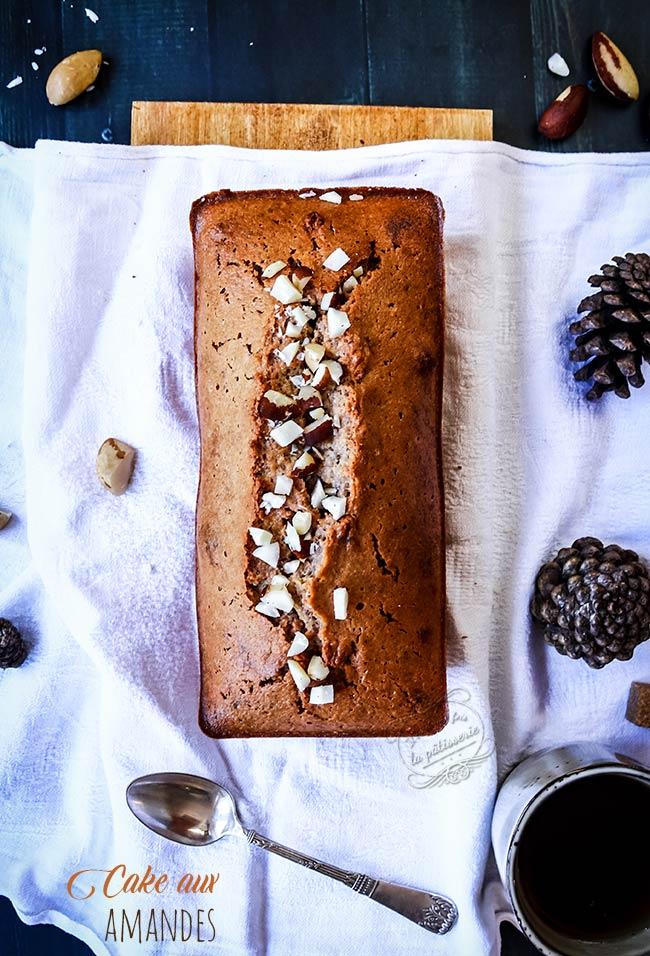 cake aux amandes maison