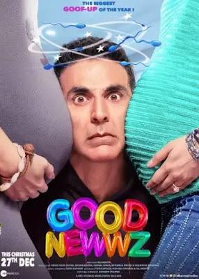 Good Newwz movie first poster, Good Newwz movie first Look