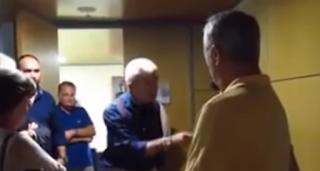 Βίντεο Μπουτάρης: «Πάρτε δρόμο ρε! Θα σας καταγγείλω»