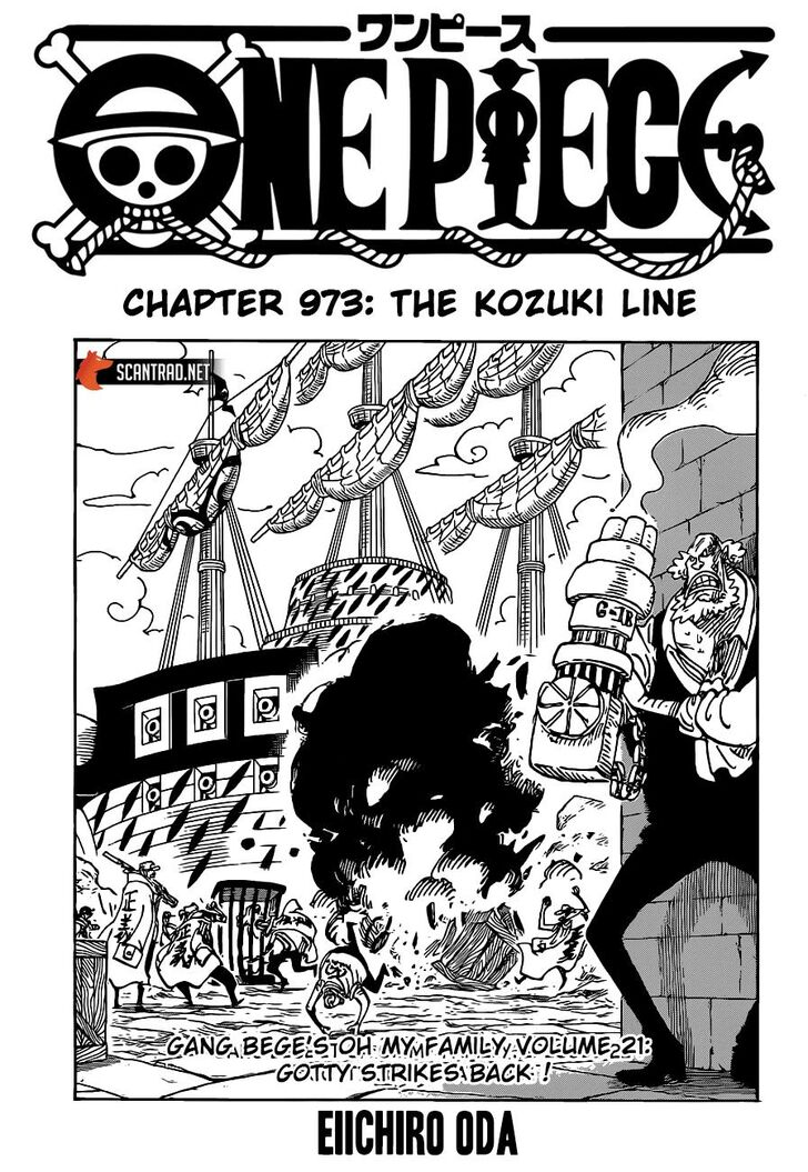 One Piece Manga Chapter 973 - Image 001