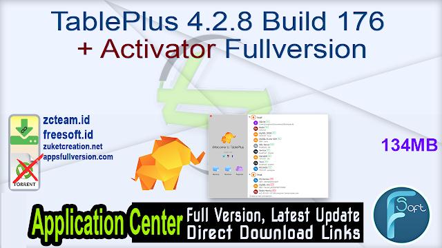 TablePlus 4.2.8 Build 176 + Activator Fullversion