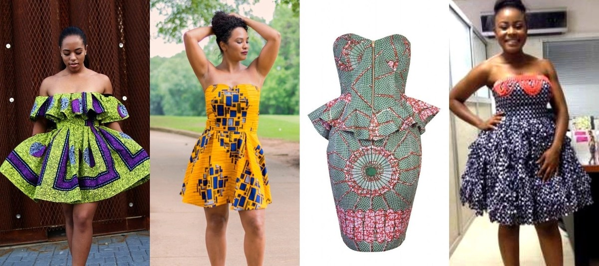 Fashion Lifestyle Latest Ankara Short Gown For 2018 2019 We Be