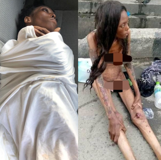 Eyewitness: how the malnourished naked woman came to be found at Ajah