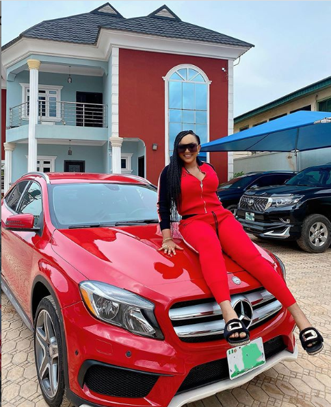 image result for mercy aigbe car and house