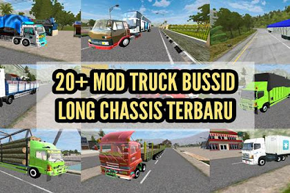 20+ Download Mod Truck BUSSID Long Chassis Terbaru
