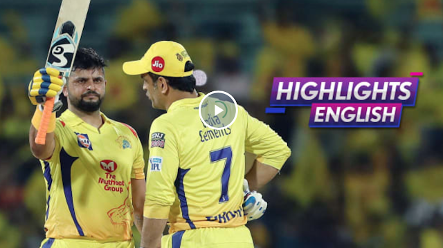 CSK vs DC Match Highlights: CSK beat DC by 80 runs