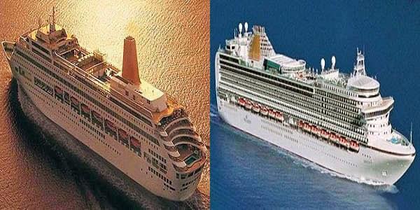 Cruise Ships of P&O Cruises