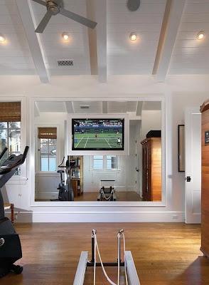 signedtina exercising  home