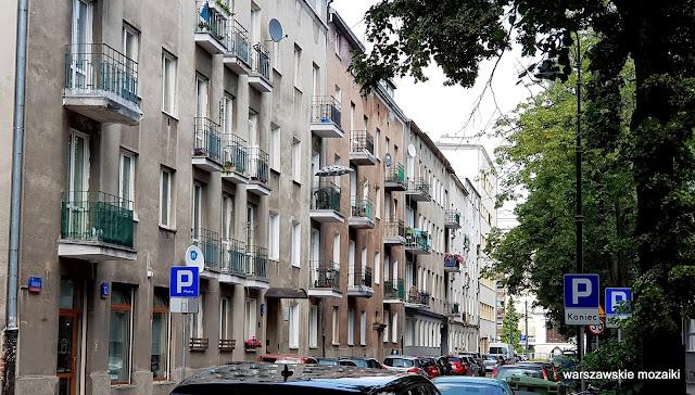 Warszawa Warsaw ulice street kamienica kamienice architektura Stary Mokotów zabudowa architecture przedwojenne
