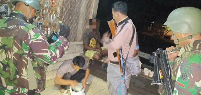Lagi, Satgas Yonif PR 328 Kostrad Amankan Pemuda Pembawa 8 Paket Ganja