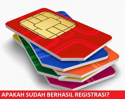 Cara Cek Registrasi Kartu Perdana Semua Operator Berhasil Atau Belum