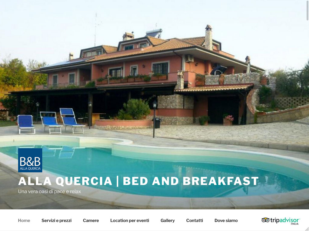 Bed and Breakfast - Alla Quercia