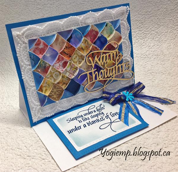 http://www.yogiemp.com/HP_cards/MiscChallenges/MiscChallenges2019/Jan19_Easel3DQuilt_ECDWarmThoughts_SleepingUnderAQuilt.html