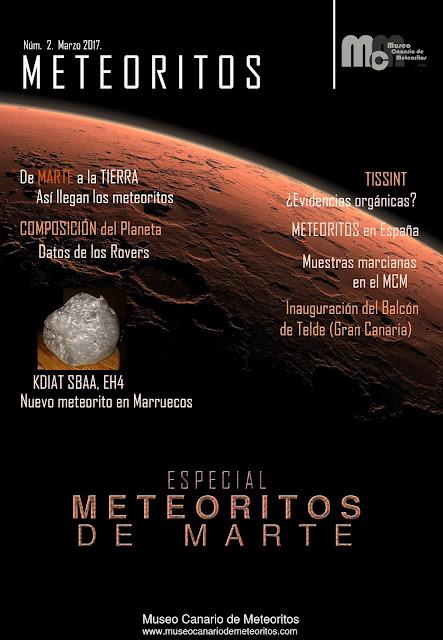 Revista METEORITOS, núm. 2.  Marzo 2017