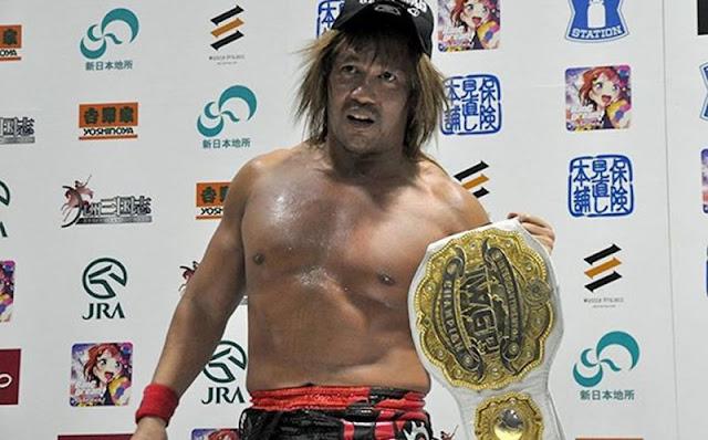 Tetsuya Naito diz ter considerado encerrar sua carreira no pro-wrestling