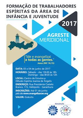 FORMAÇÃO DE TRABALHADORES ESPÍRITAS DA ÁREA DE INFÂNCIA E JUVENTUDE