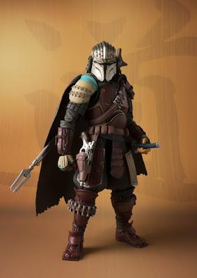 New York Comic Con 2020 Exclusive Star Wars Ronin Mandalorian Meisho Movie Realization Action Figure