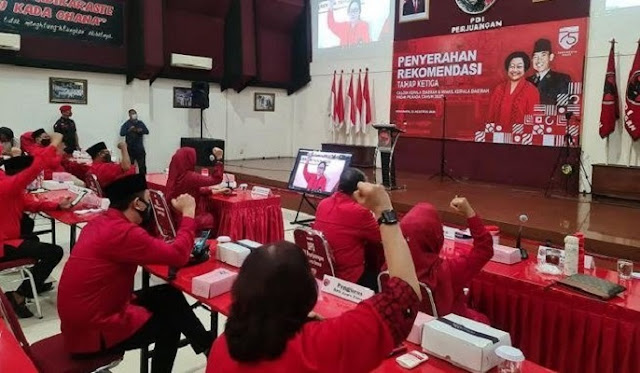 Resmi, PDIP Rekom Andi Kaswadi Razak dan Lutfi Halide Untuk Pilkada Soppeng 2020