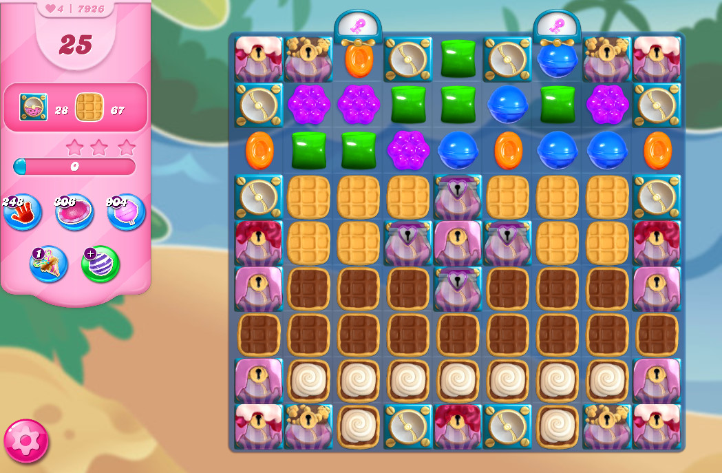 Candy Crush Saga level 7926