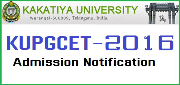 KUPGCET-2016 - Admission Notification(www.naabadi.org)