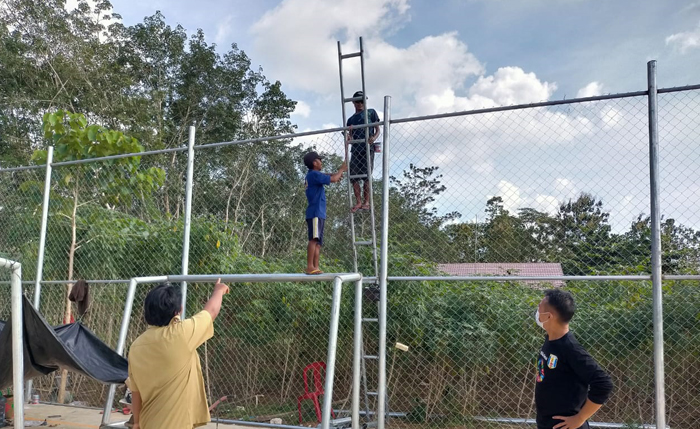 Kucuran DD Tahap I, Pemkam Negeri Bumi Putra Prioritaskan BLT dan Sarana Olahraga