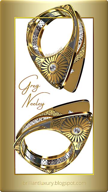 Greg Neeley Hopi Pottery ladies ring #brilliantluxury