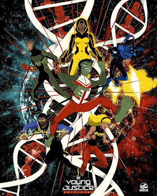 San Diego Comic-Con 2019 Exclusive Young Justice: Outsiders Screen Print by Raid71 x DC Universe