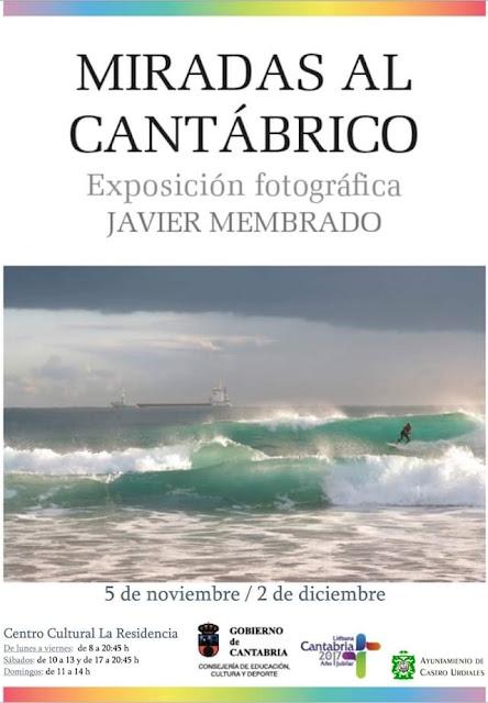 """Exposición fotográfica """"Miradas del Cantábrico"""" de Javier Membrado en Castro Urdiales"""