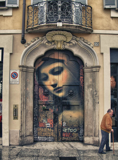 Arpa eolica viaggio tra i murales di milano for Ristorante murales milano