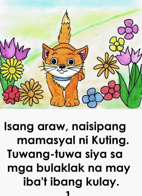 kindergarten pagbasa ng tagalog
