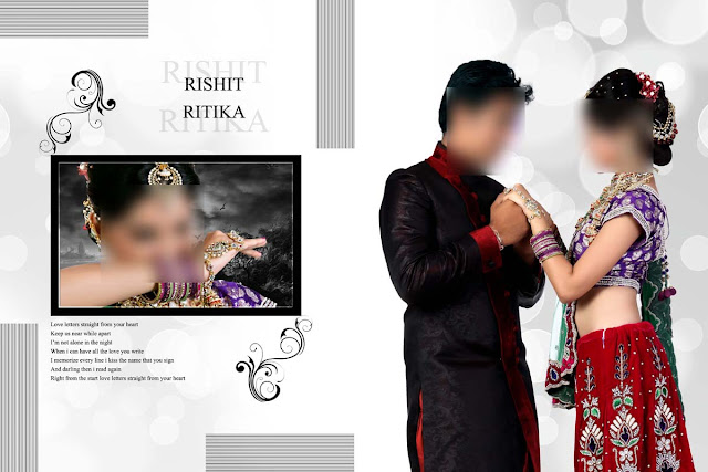 Wedding Album Cover Design