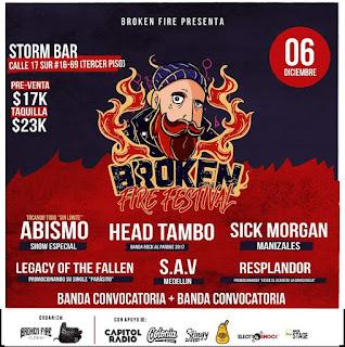 BROKEN FIRE FESTIVAL EDICIÓN 3