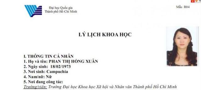 Vạch trần thêm về lý lịch của 'chị Lu'