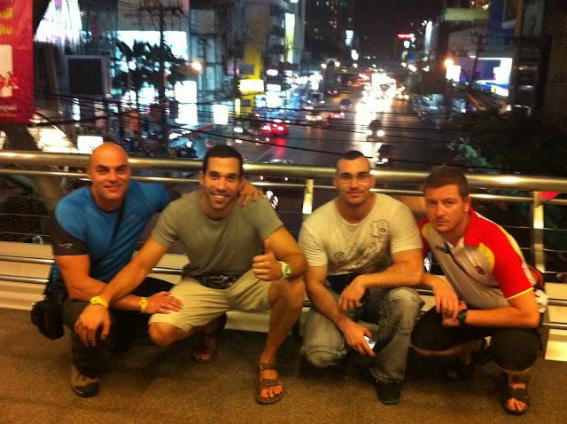 El grupo en Bangkok