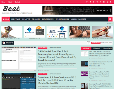 Download Best Seo Friendly Prime Version For Blogger Template Free For All By Jonaki TelecoM