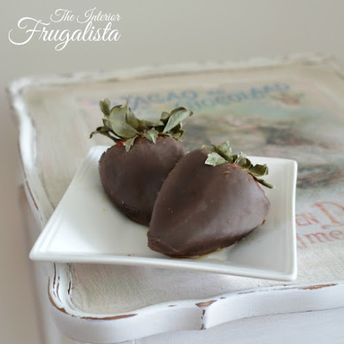 A Scalloped Tea Table Makeover Inspired By Chocolate