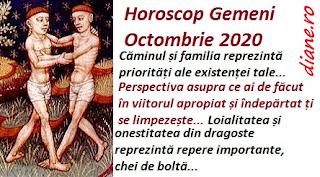 Horoscop Octombrie 2020 Gemeni
